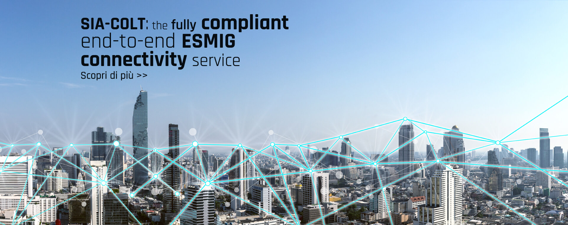 SIA-COLT: the fully compliant end-to-end ESMIG connectivity service