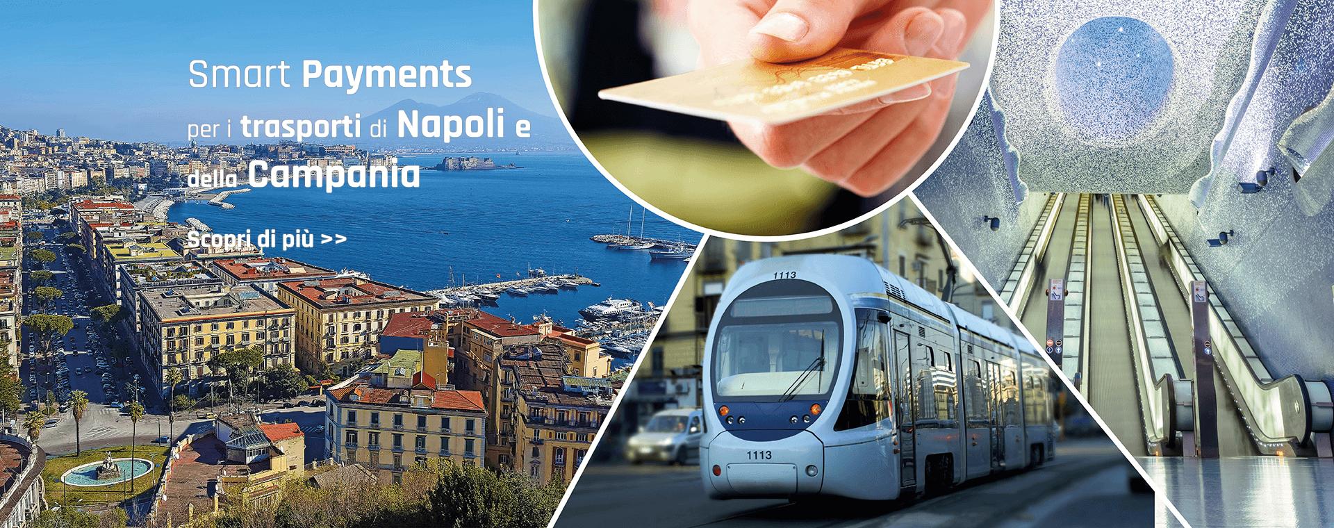 Accordo SIA e Unicocampania per abilitare i pagamenti con carte contactless a Napoli e sui mezzi di trasporto regionali