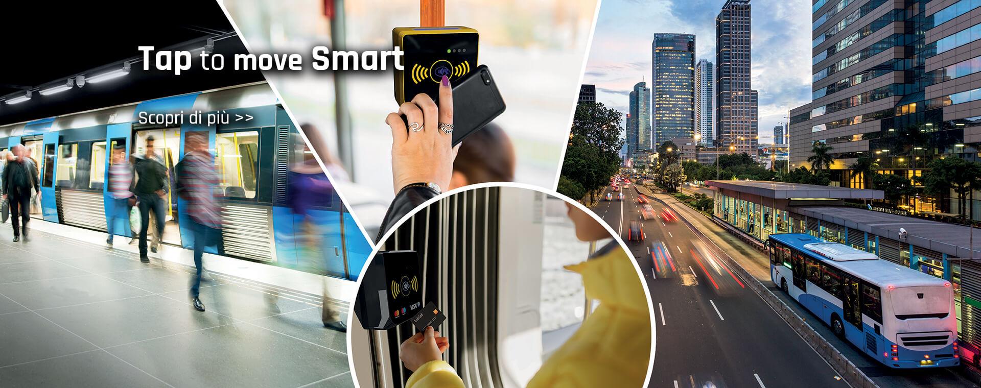 Tap to move smart, pagamenti digitali per la nuova mobilità