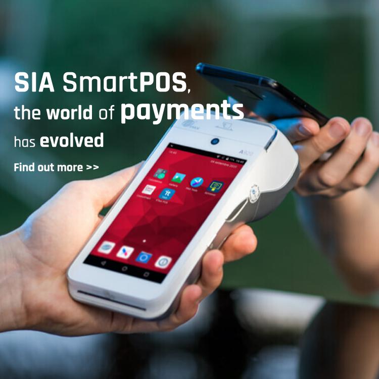SmartPOS  A-Series pagamenti  App smartphone PAX SIA