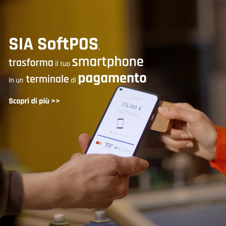 Il software che trasforma il tuo smartphone e tablet in un terminale di pagamento.