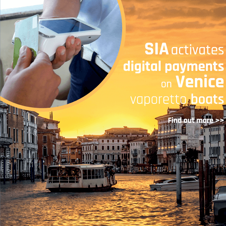 SIA activates digital payments on Venice vaporetto boats