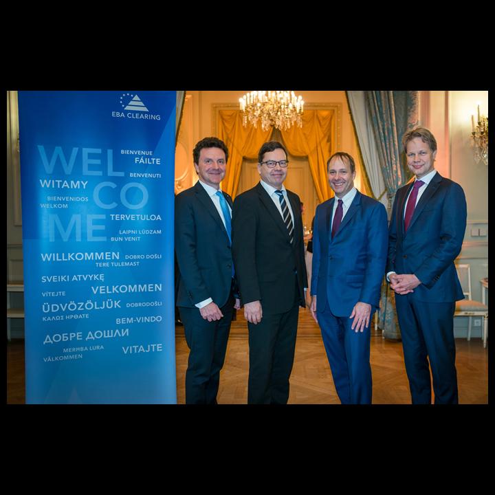 Nicola Cordone, Deputy CEO & SVP SIA (zuerst von links)