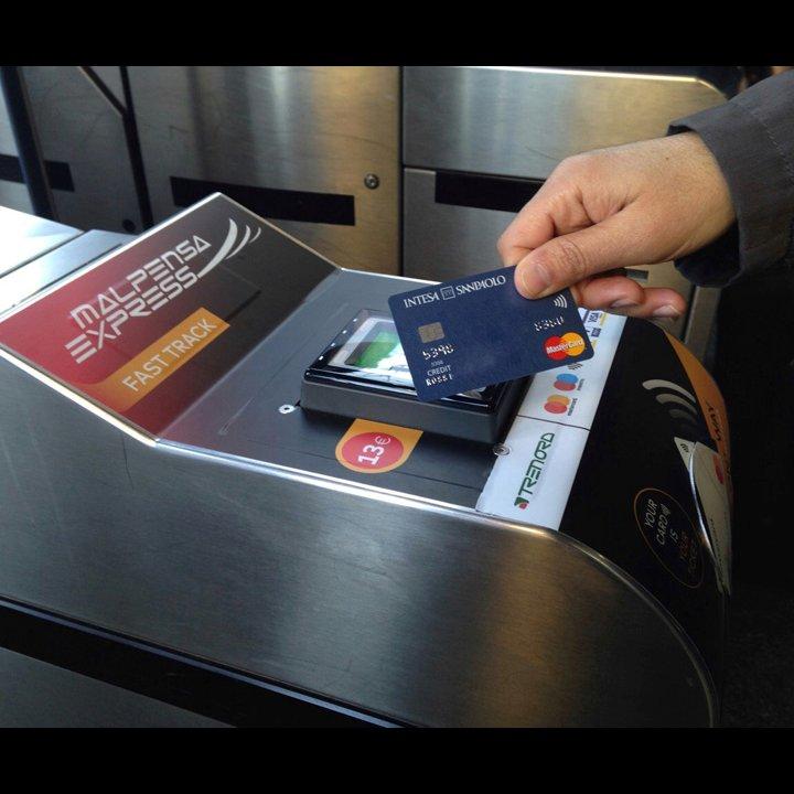 SIA, NFC, contactless, Trenord, Malpensa Express